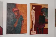 Inauguração da exposição de pintura de Mário Madeira