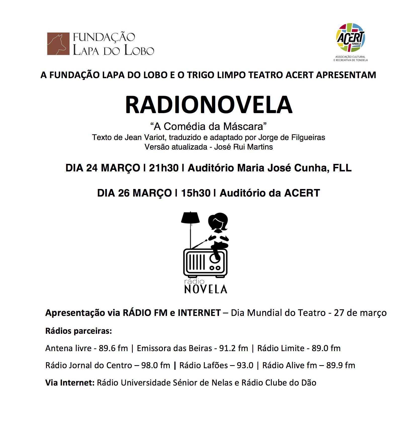 Cartaz Radionovela